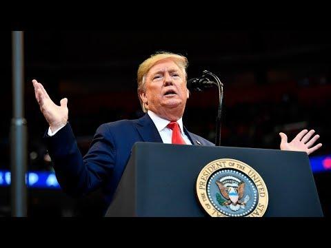 Donald Trump holds