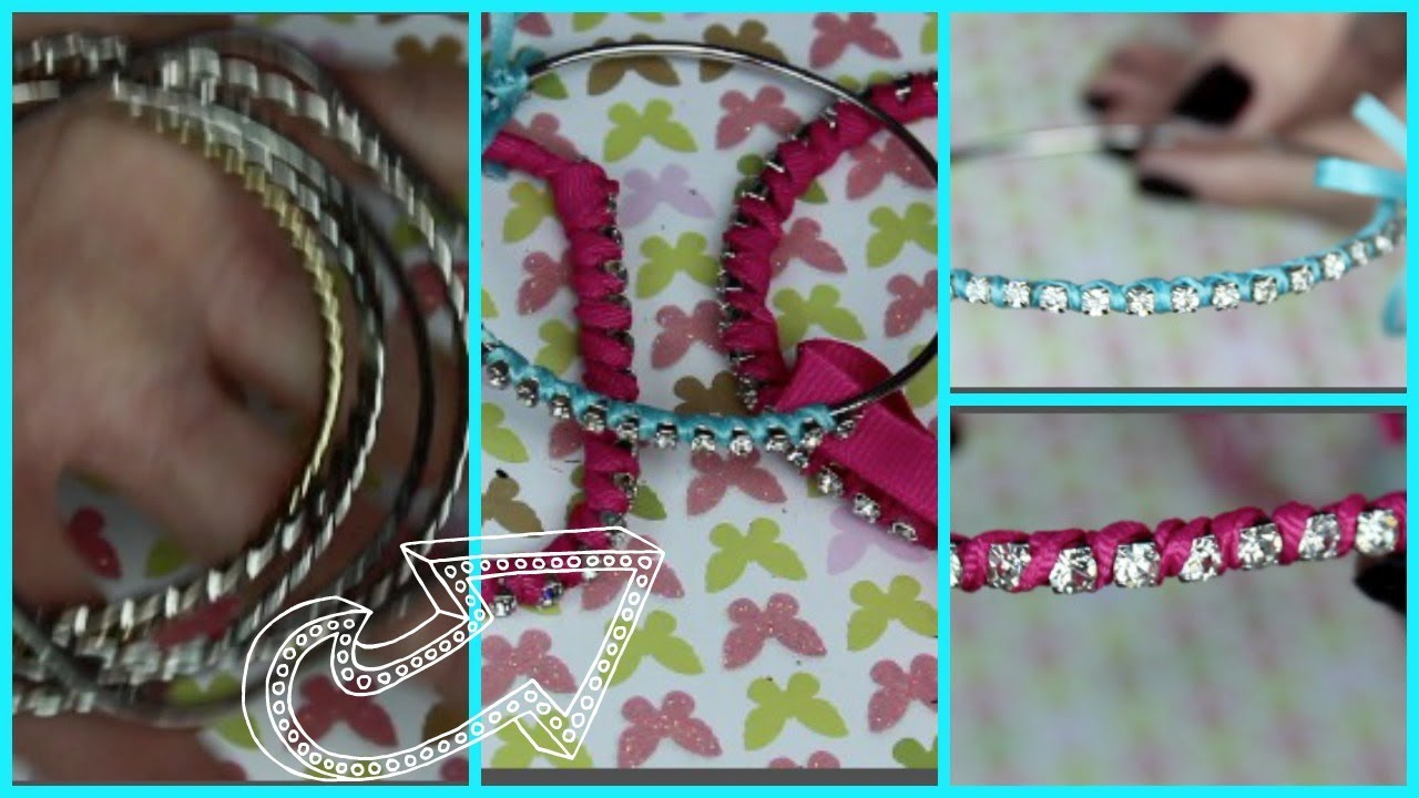 Diy Make Your Old Bangles Look New Addicted2toofaced Youtube with Craft Ideas With Old Bangles