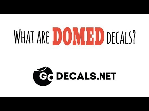 What Are Domed Decals?