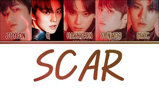 [Color Coded Lyrics] THE BOYZ 더보이즈 - Scar (흔적) [Han/Rom/Eng]