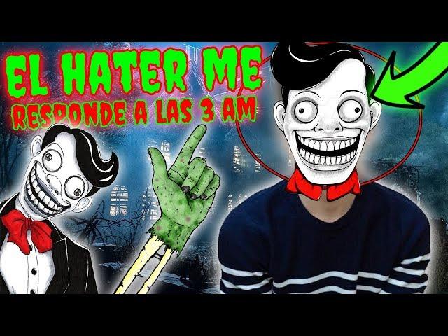 VECINO de NÚMERO HATER me RESPONDE a las 3 AM!! (MR CHUCKLE TEETH) *Number Neighbor*