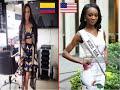 Miss Universe 2016- Miss USA vs Miss Colombia- Deshauna Barber/ Andrea Tovar Velásquez