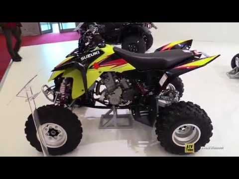 2016 Suzuki QuadSport Z400 Sport ATV - Walkaround - 2015 Salon de la ...