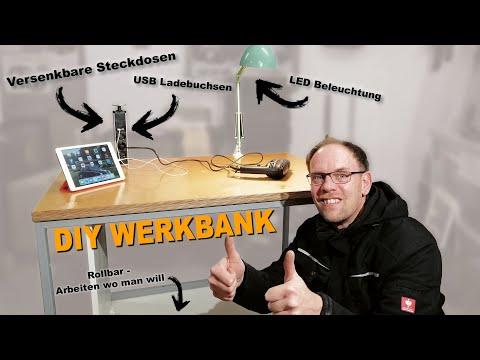 DIY Werkbank / Schrott wird flott! / WFF (Willi, Flip & Friends)