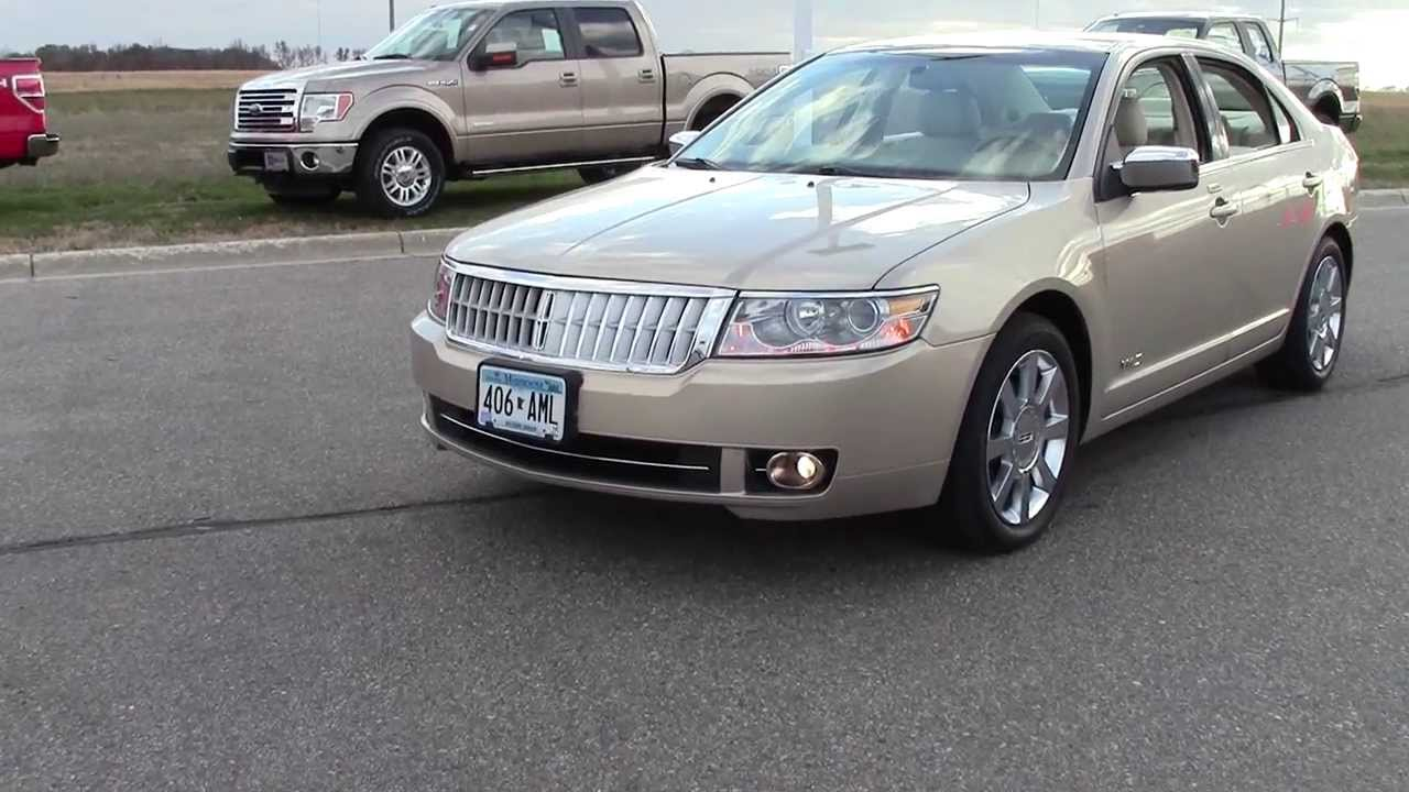 hight resolution of 2008 lincoln mkz fwd