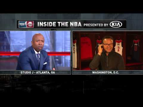 Inside the NBA: New Wizards Coach Joins the Show