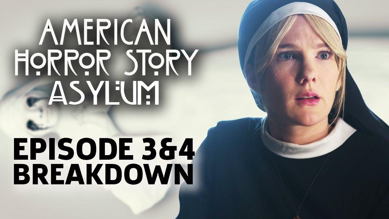 Download AHS: Asylum Season 2 Episode 3 & 4 Breakdown!