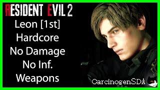 Download lagu Resident Evil 2 REmake (PC) No Damage - Leon 1st (Leon A) Hardcore Mode