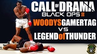 Call Of Drama - Woodysgamertag Vs 402THUNDER402 (BO2 Multiplayer)