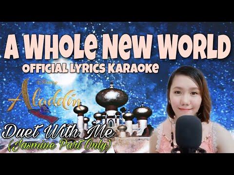 a-whole-new-world-|-alladin-|-jasmine-part-(-female-part-only-)-lyrics