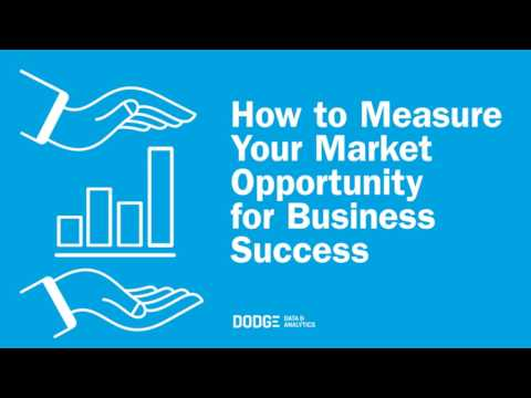 How to Measure Your Market Opportunity