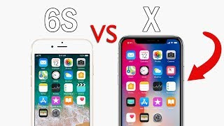 iPhone 6S vs iPhone X - SPEED TEST