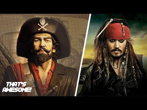 The story behind the REAL Jack Sparrow (Who was John Ward?)