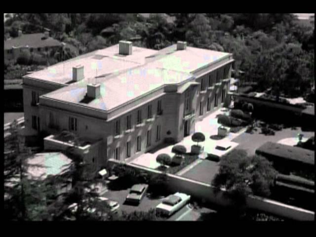Beverly Hillbillies Mansion Kirkeby Mansion Bel Air California Youtube