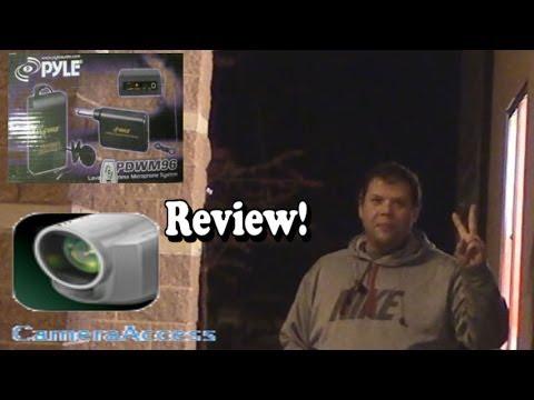 Review Pyle Pro PDWM96 Microphone & Canon PIXELA CORPORATION App