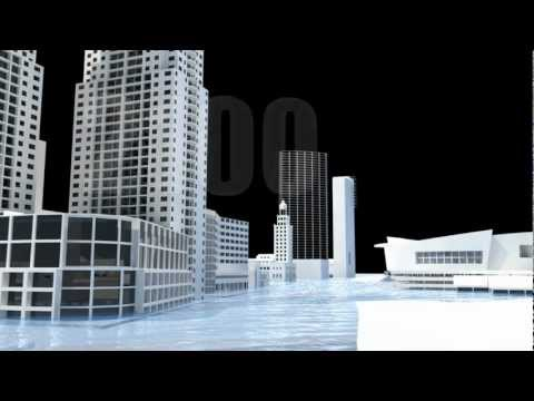 Sea Level Rise Animation