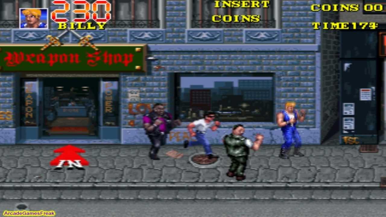 Double Dragon 3 The Rosetta Stone Arcade Gameplay