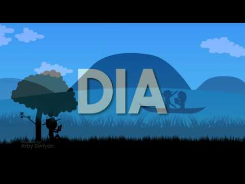 Anji   DIA Video Lirik Animasi Vector   YouTube