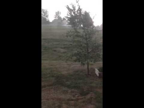 Atchison Kansas severe thunderstorm 8/8/12