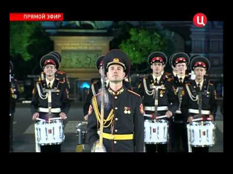 Band of the Moscow Suvorov Military Music College, 2012
