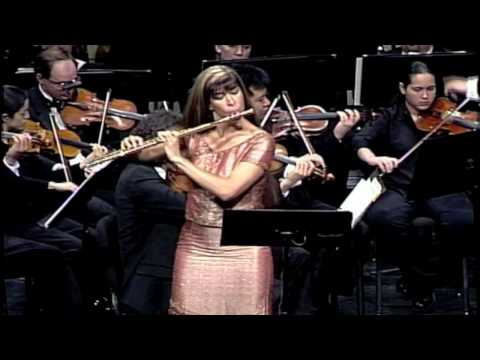 "Franzetti Tango Flute Concerto ""Battery Park"" performed by Viviana Guzman"