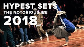 Cover images HYPEST SETS OF THE NOTORIOUS IBE 2018!