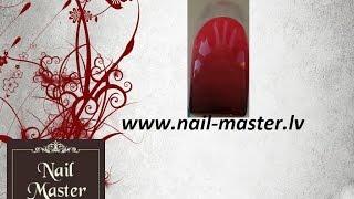 Лёгкий Дизайн маникюра Омбре Градиент гель лаком -- Ombre gradient nail art easy tutorial gel polish