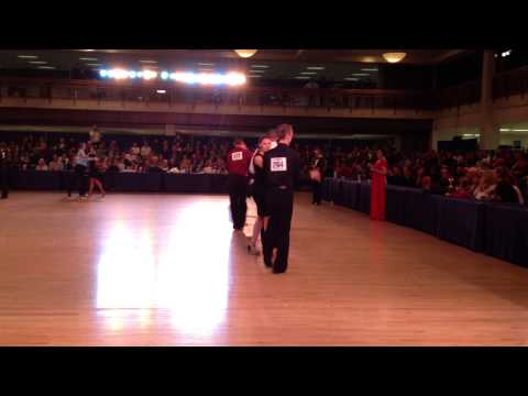Gold Bar Latin Formation Dancing