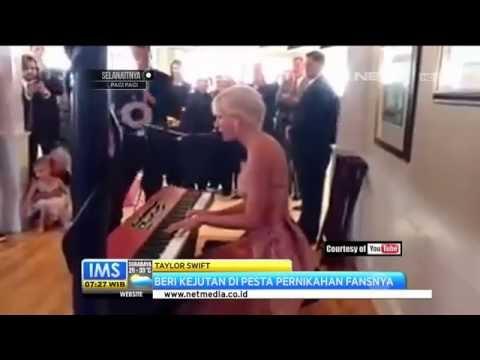 Taylor Swift Beri Kejutan di Pesta Pernikahan Fansnya Mp3