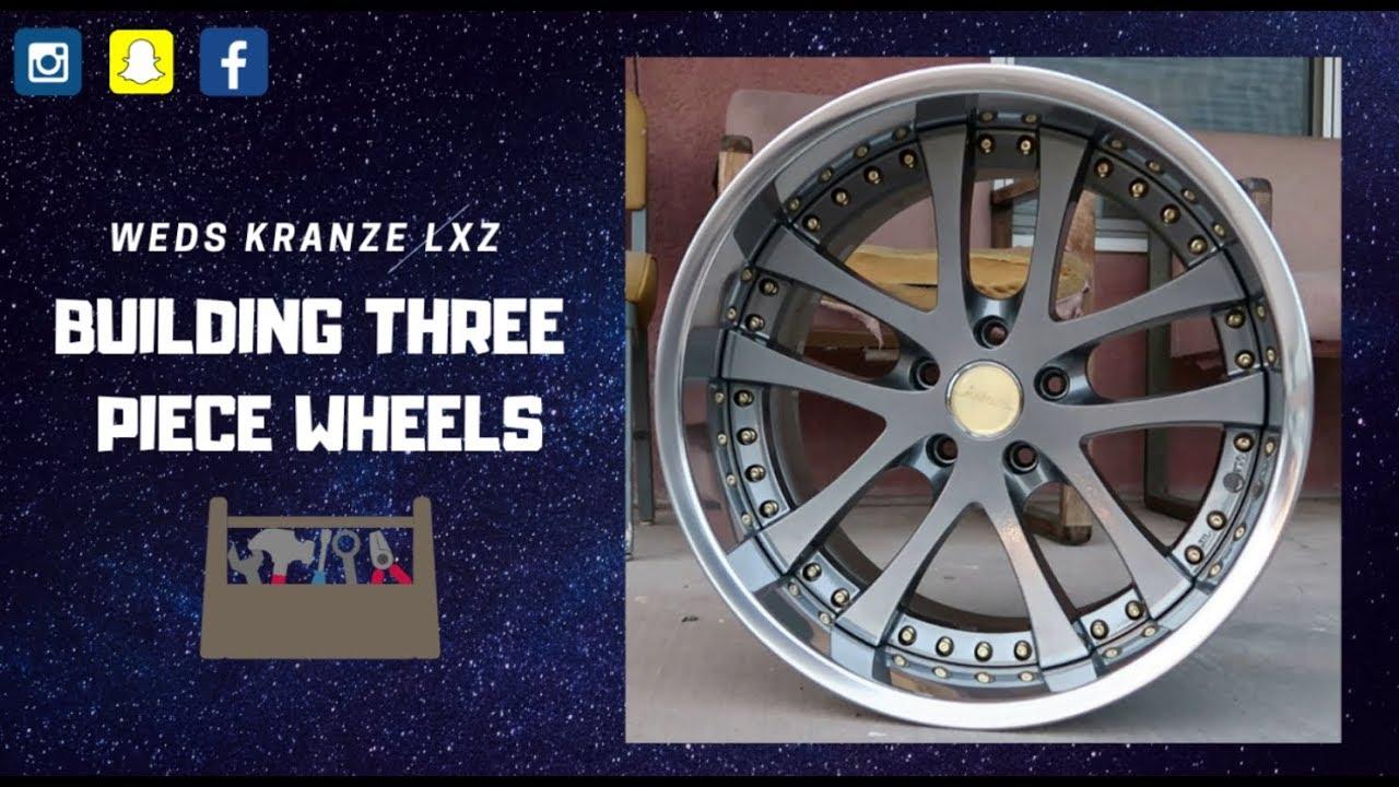 How To Rebuild A Three-Piece Wheel (BecauseCamber_) Weds Kranze Lxz