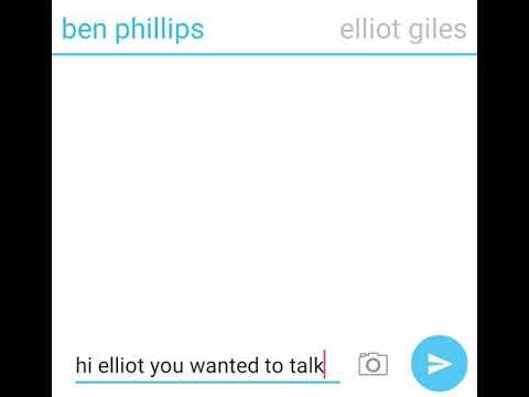 ben phillips and elliot giles textin part 3😂