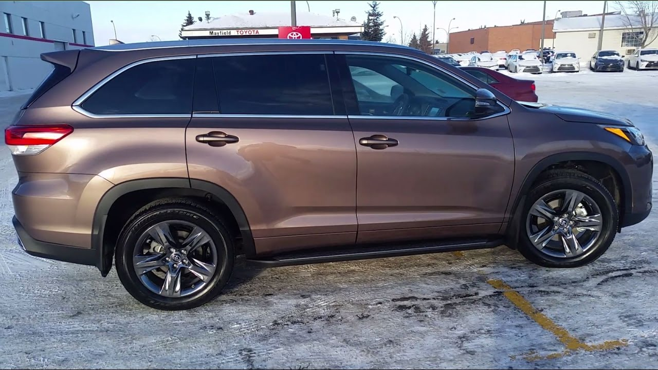 2017 Toyota Highlander Limited in Toasted Walnut Pearl ...