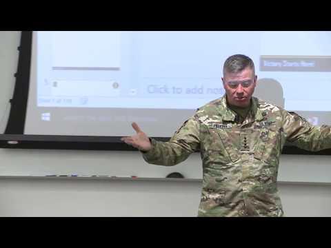 TRADOC Mad Scientist 2017 Georgetown: Multi Domain Battle w/ General Perkins