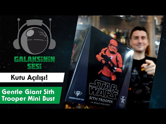 Kutu Açılışı : Gentle Giant The Rise of Skywalker - Sith Trooper Mini Bust