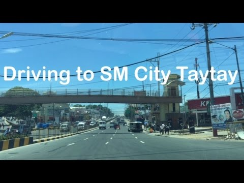 Driving Directions to SM City Taytay Rizal from Makati by HourPhilippines.com