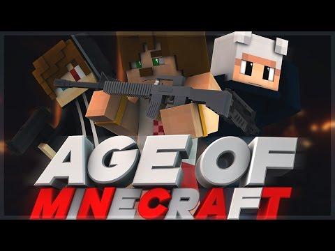 Savaş Başladı ! -8- Modlu Age of Minecraft