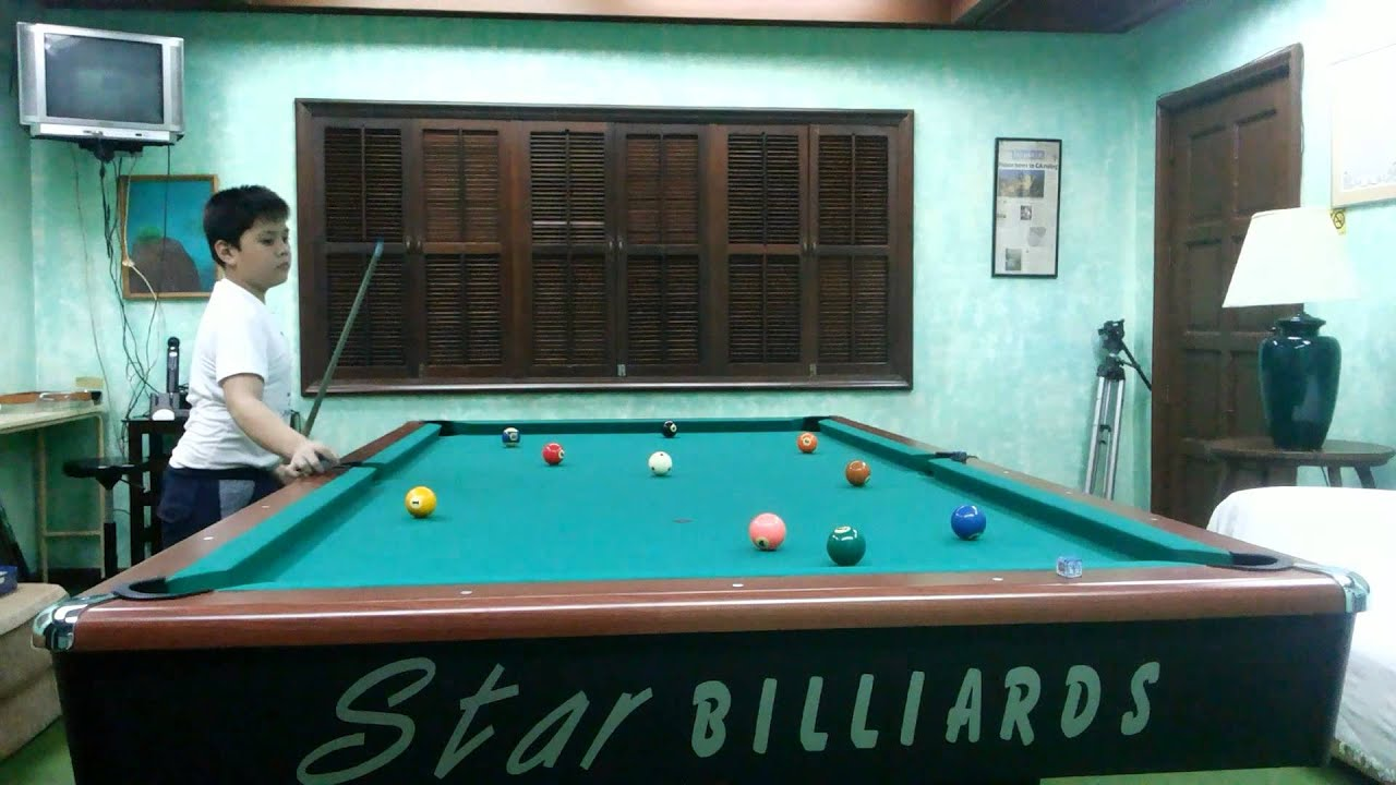 Star Maxima With Cole Baron YouTube - Star pool table