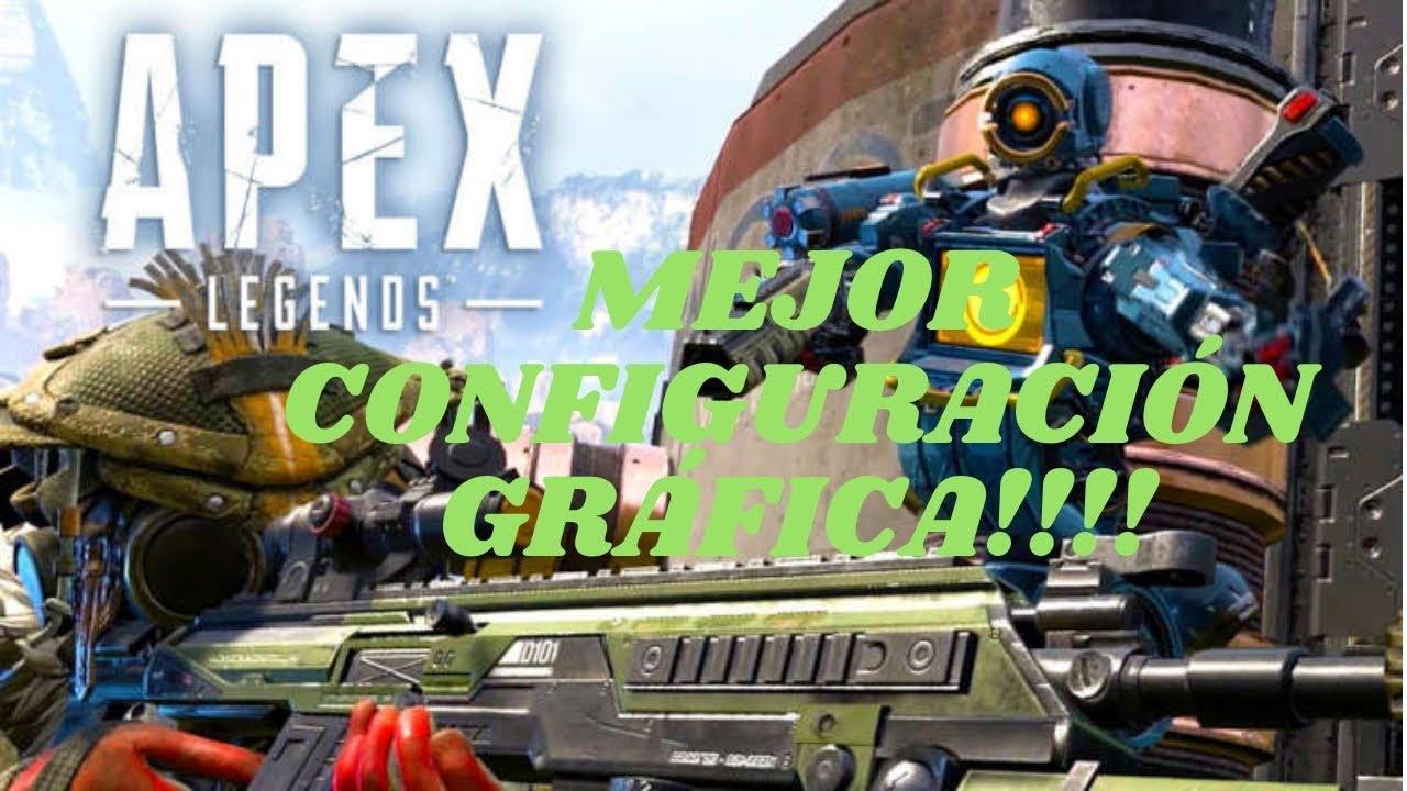"""COMO CONFIGURAR Y TENER LOS MEJORES """"FPS"""" EN APEX LEGENDS!!!"""