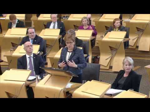 First Minister's Questions - 8 March 2018