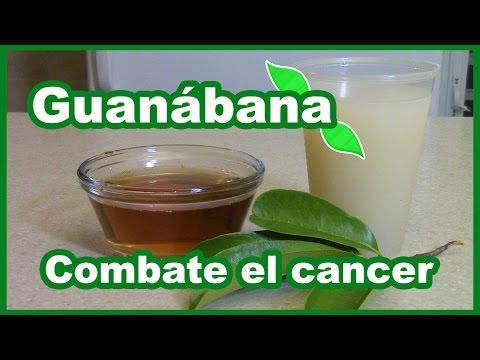 como tomar la guanabana para prevenir el cancer