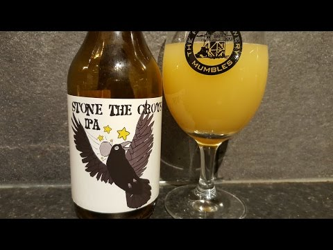 Brewski Stone The Crows IPA | A HUGE thumbs up to all the bloggers out there!!