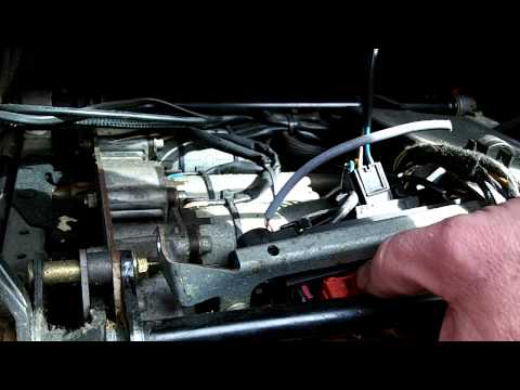 Mercedes power seat control module removal