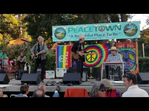 """Get Together"" at Peacetown concert venue, Sebastopol, CA"