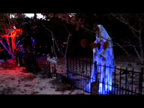 Haunted Yard 2012 Milton, FL