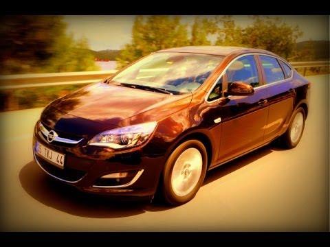 Test - Opel Astra Sedan 1.6 CDTi