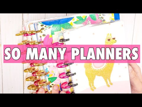 HOW I AM USING MULTIPLE PLANNERS | MY PLANNER ROUTINE 2019