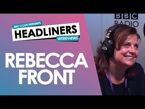 Rebecca Front talks acting, politics and why she hates complaining