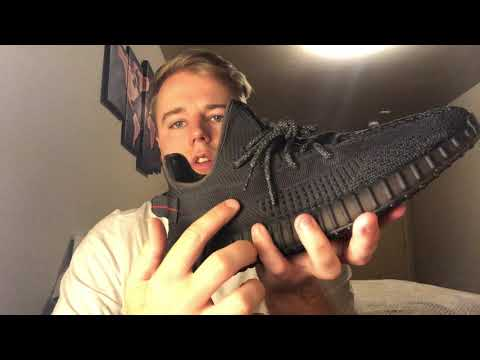 Adidas Yeezy Boost 350 V2 'Black' FU9006 Authenticity Guide, Legit Check, Real Fake Non Reflective