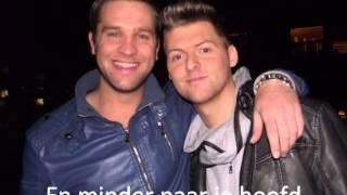 Mike en Colin - Altijd met je varen (Lyrics)