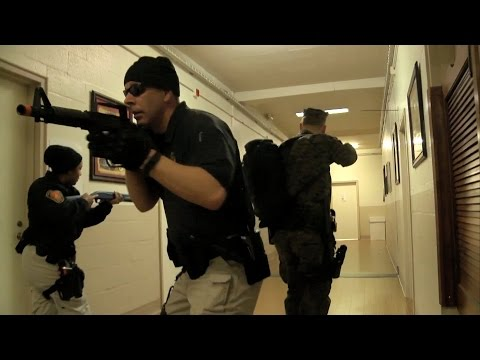 Active Shooter Exercise At MCB Quantico